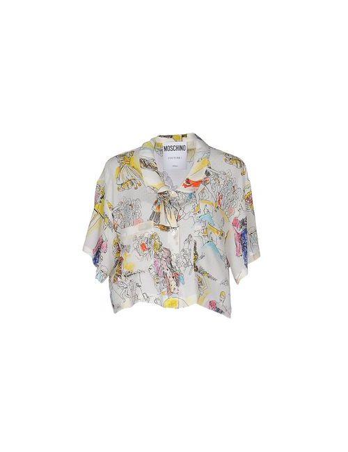 Moschino Couture | Женская Белая Pубашка