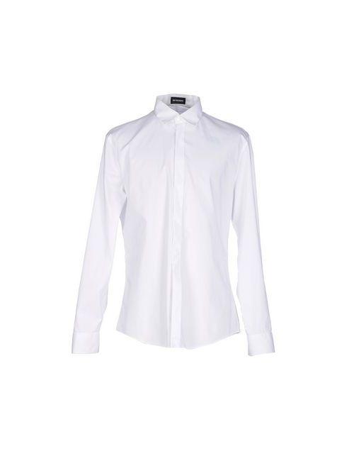 Bikkembergs | Женская Белая Pубашка