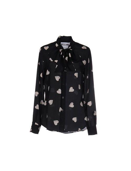 Moschino Couture | Женская Чёрная Pубашка