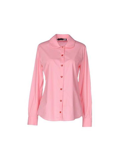 Love Moschino   Женская Розовая Pубашка