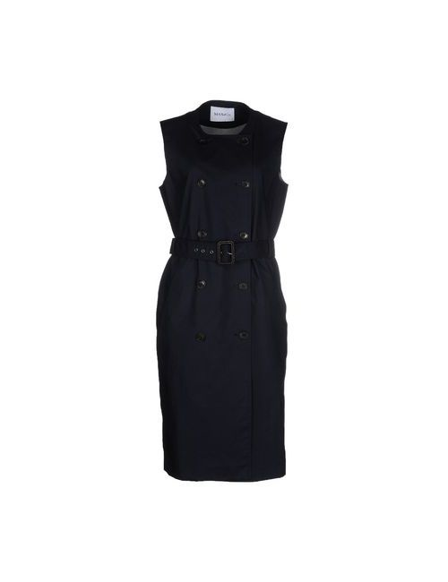 Max & Co. | Женское Синее Платье До Колена