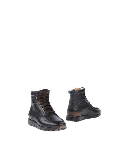 Santoni | Мужские Коричневые Полусапоги И Высокие Ботинки