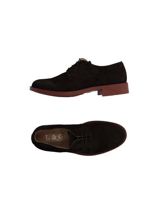 L&G | Женская Коричневая Обувь На Шнурках