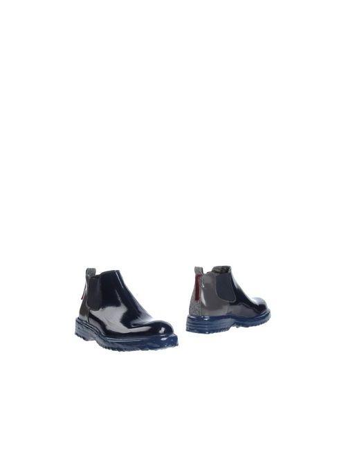 ATTIMONELLI'S | Мужские Синие Полусапоги И Высокие Ботинки