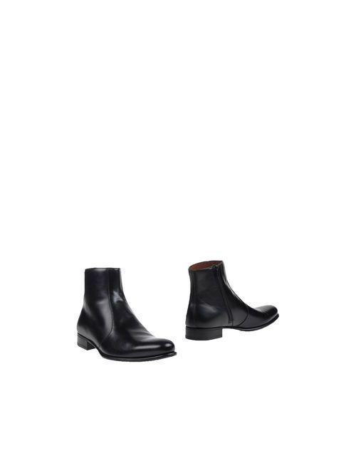 A. Testoni   Мужские Чёрные Полусапоги И Высокие Ботинки