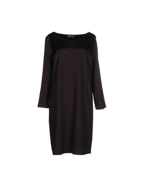 Alpha Massimo Rebecchi | Женское Коричневое Платье До Колена