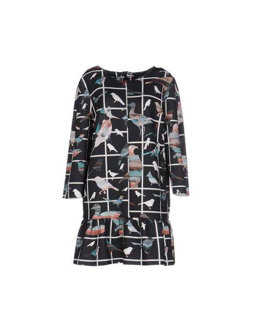 LES BOHĒMIENS | Женское Чёрное Короткое Платье