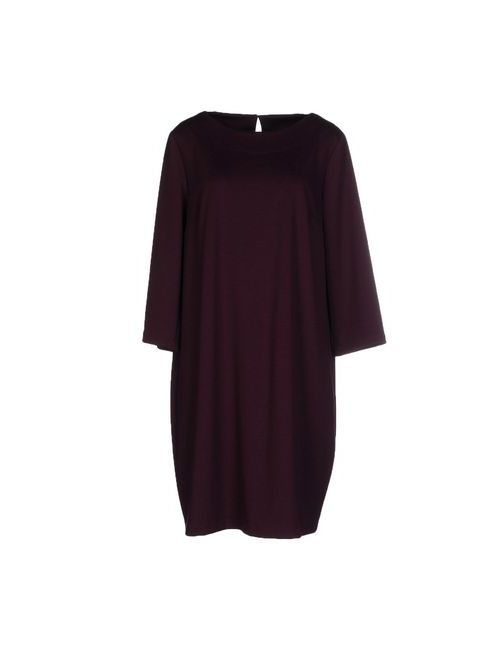 Andrea Morando | Женское Баклажанное Короткое Платье