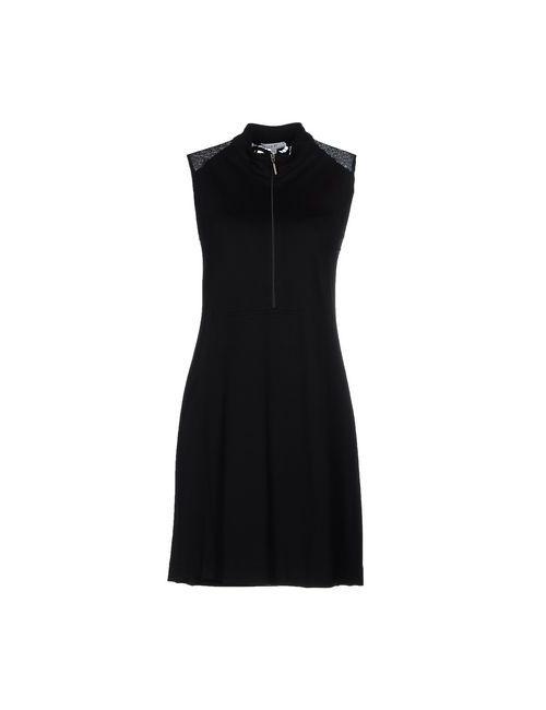 Parah | Женское Чёрное Короткое Платье