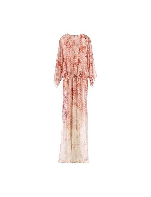 Roberto Cavalli | Женское Красное Длинное Платье