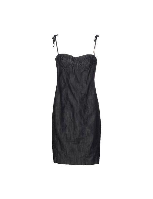 Siviglia | Женское Синее Платье До Колена