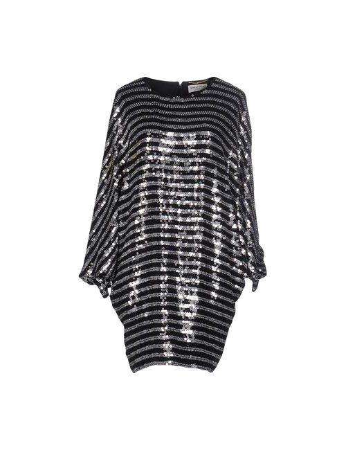 Saint Laurent | Женское Черный Короткое Платье