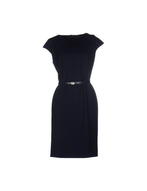 Emisphere | Женское Синее Платье До Колена