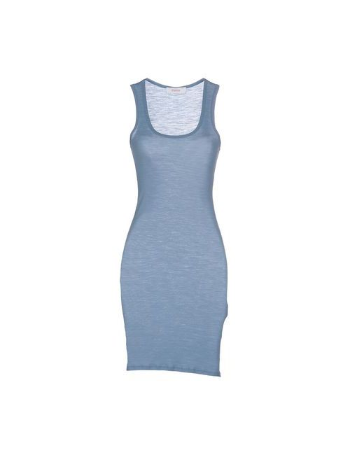 Jucca | Женское Голубое Короткое Платье