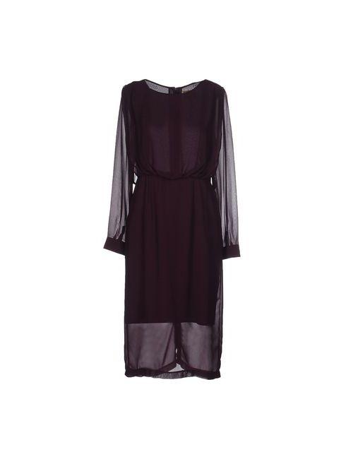 Orion London | Женское Фиолетовое Платье До Колена