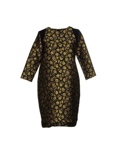 Hanita | Женское Жёлтое Короткое Платье