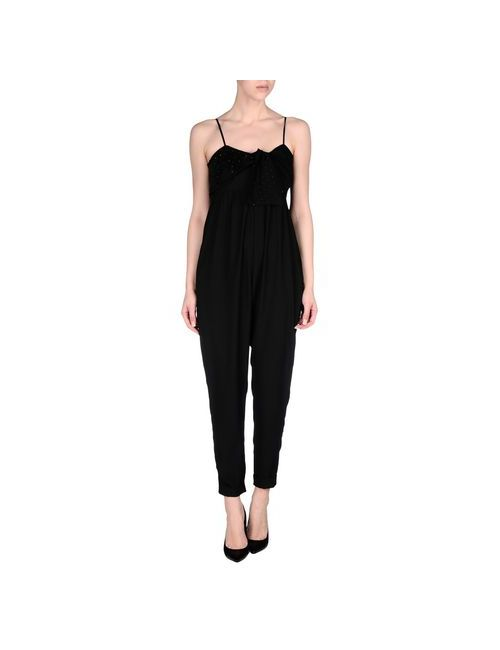 Liu •Jo Jeans | Женские Чёрные Комбинезоны Без Бретелей