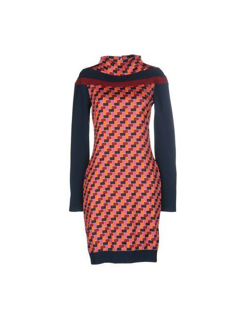 Who*S Who | Женское Оранжевое Короткое Платье