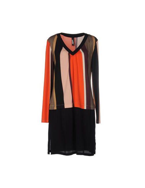 Pianurastudio | Женское Оранжевое Короткое Платье