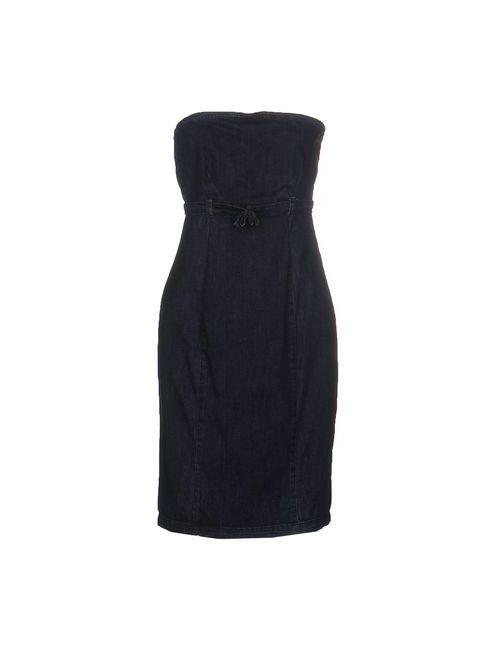 Amy Gee | Женское Синее Короткое Платье