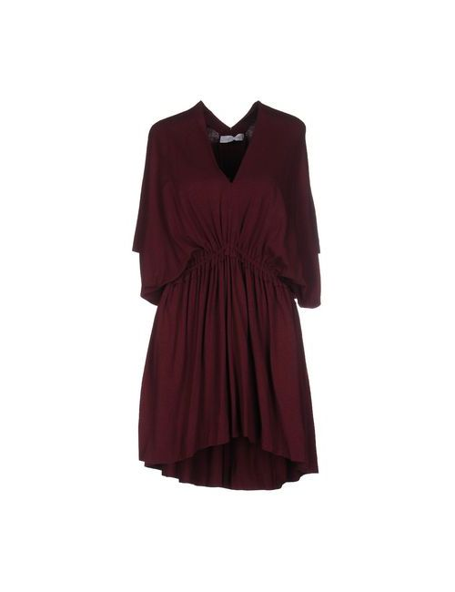 Laltramoda | Женское Коричневое Короткое Платье