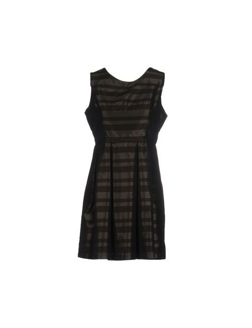 SOALLURE | Женское Коричневое Короткое Платье