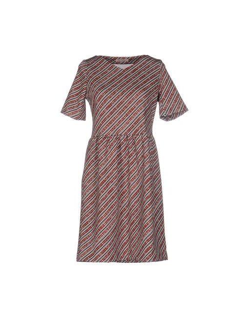 Miki Thumb | Женское Коричневое Короткое Платье