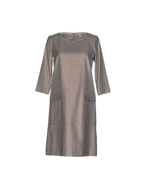 Gigue | Женское Медное Короткое Платье