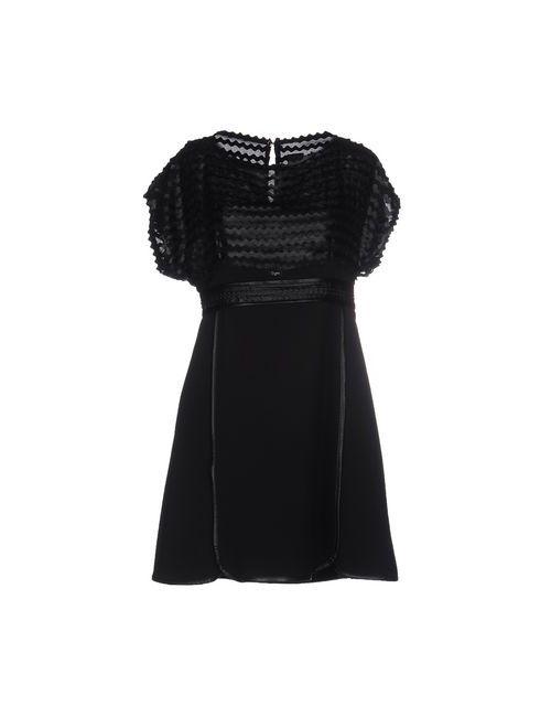 Eureka | Женское Чёрное Короткое Платье