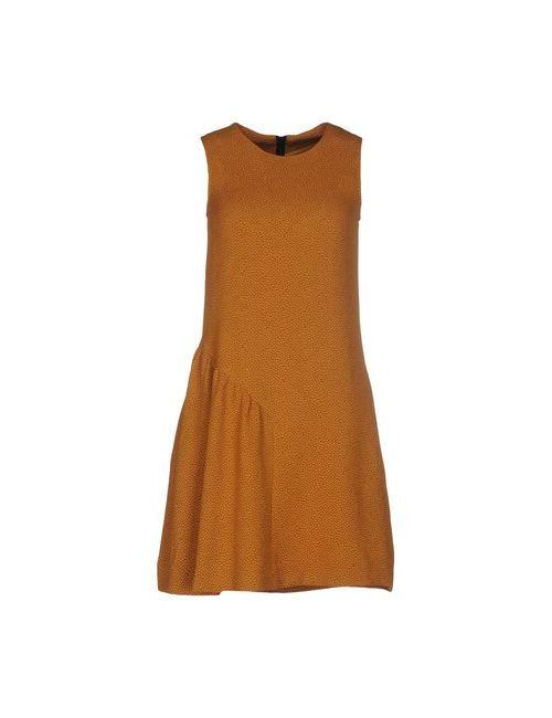 Essentiel | Женское Охра Короткое Платье