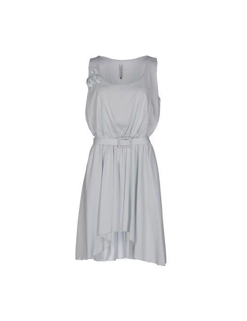 Amy Gee | Женское Голубое Короткое Платье