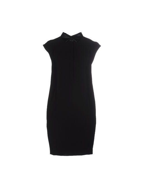 Imperial | Женское Черный Короткое Платье