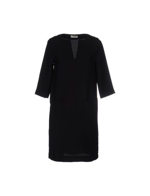 Ottod'Ame | Женское Черный Короткое Платье