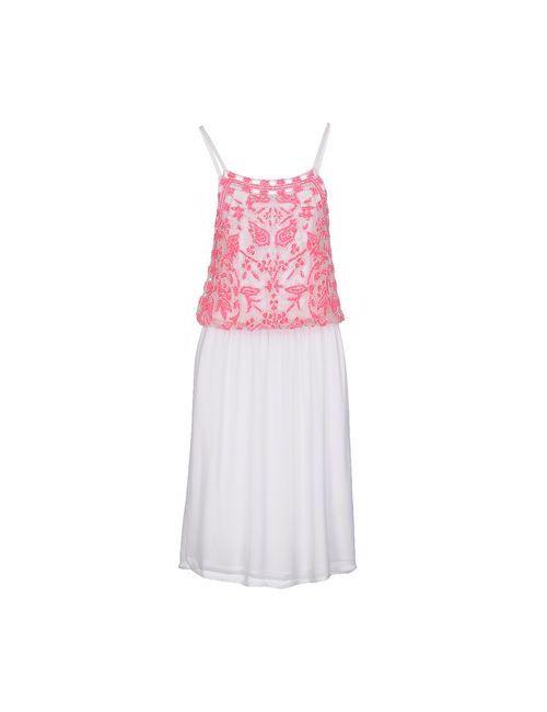 Antik Batik | Женское Белое Платье Длиной 3/4