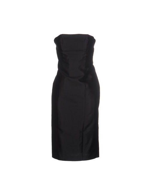 THANA | Женское Чёрное Короткое Платье