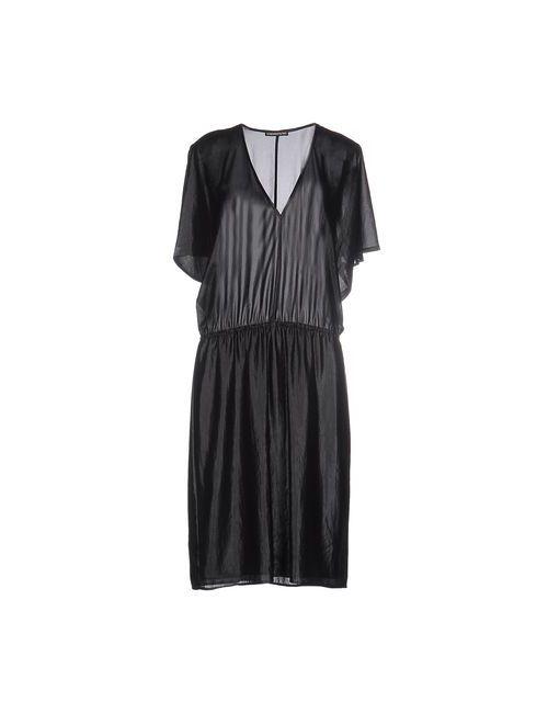 DRYKORN | Женское Чёрное Платье До Колена