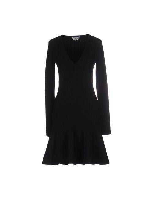 Saint Laurent   Женское Чёрное Короткое Платье