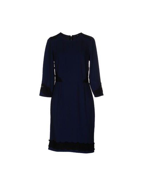MORGAN DE TOI | Женское Синее Короткое Платье