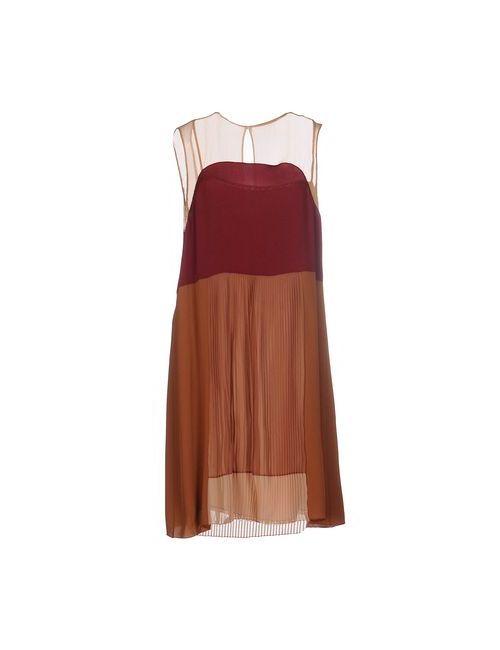 Prada | Женское Фиолетовое Короткое Платье