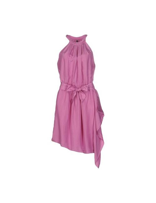 Manila Grace | Женское Фиолетовое Платье До Колена