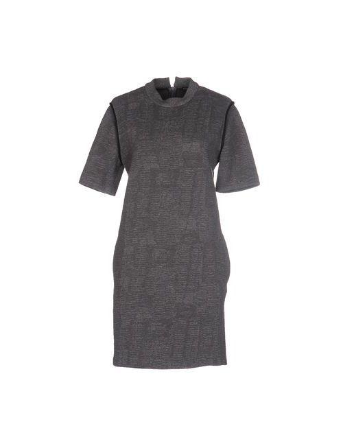 New York Industrie   Женское Серое Короткое Платье