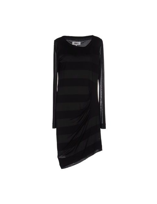 MM6 by Maison Margiela | Женское Чёрное Короткое Платье