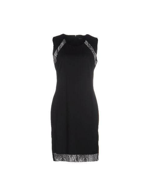Lizalu' | Женское Чёрное Короткое Платье