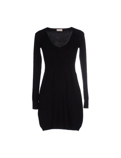 CASHMERE COMPANY | Женское Чёрное Короткое Платье