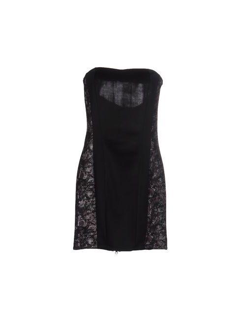 W!K! | Женское Чёрное Короткое Платье