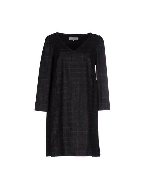 L' Autre Chose | Женское Серое Короткое Платье