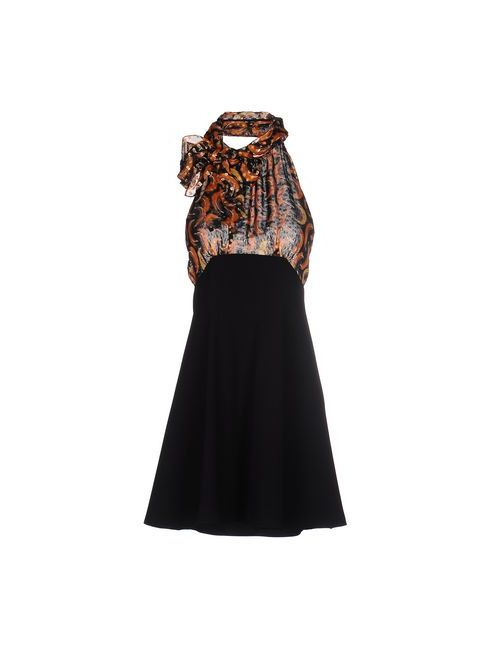 Miu Miu | Женское Чёрное Короткое Платье