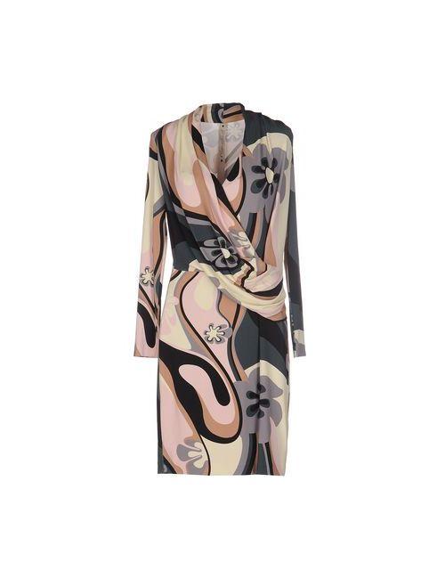 Le Coeur De Twin-Set Simona Barbieri | Женское Жёлтое Короткое Платье