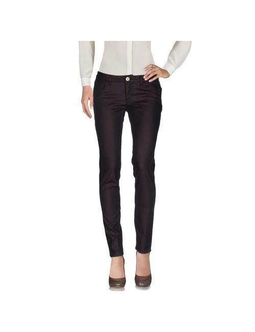 Trussardi Jeans | Женские Баклажанные Повседневные Брюки