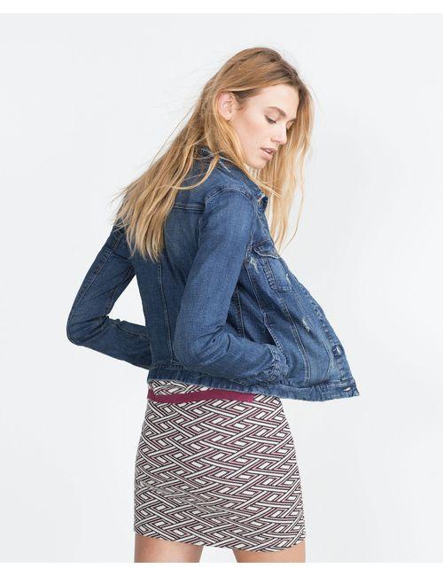 Zara | Синяя Джинсовка